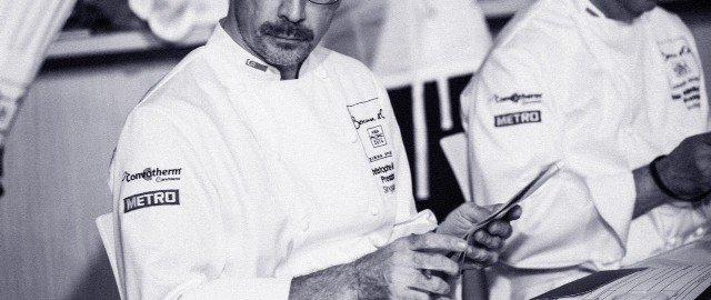 Christophe Megel, président du Bocuse d'Or à Singapour.