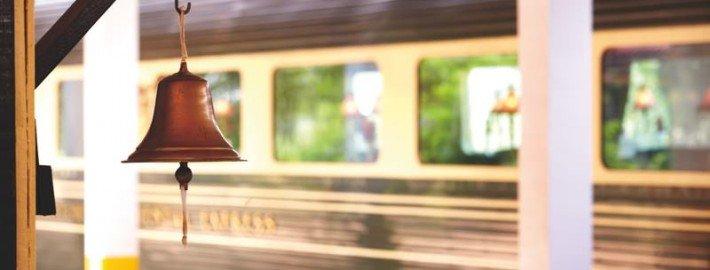 L'Eastern & Oriental Express en gare. ©Belmond