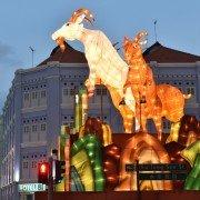 Le Nouvel An chinois célèbre la chèvre. ©Kreta Ayer-Kim Seng Citizens Consultative Committee.