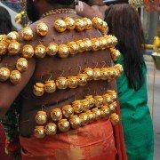 La fête hindoue Thaipusam célébrée à Singapour. ©Colombe Prins