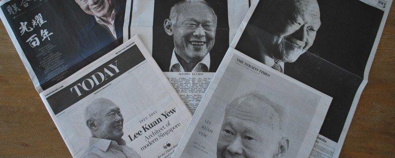 C'est à 3h18 du matin, lundi 23 mars que Lee Kuan Yew s'est éteint à l'âge de 91 ans d'une pneumonie. Les journaux n'ont pu annoncer son décès qu'à la mi-journée.