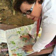 Ariane Nabarro est guide francophone à Singapour. ©Colombe de l'Epine.