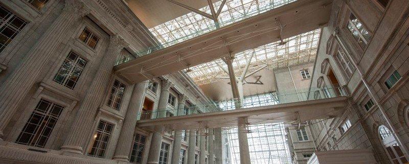 Vue de l'Atrium, à la National Gallery de Singapour. ©National Gallery Singapore