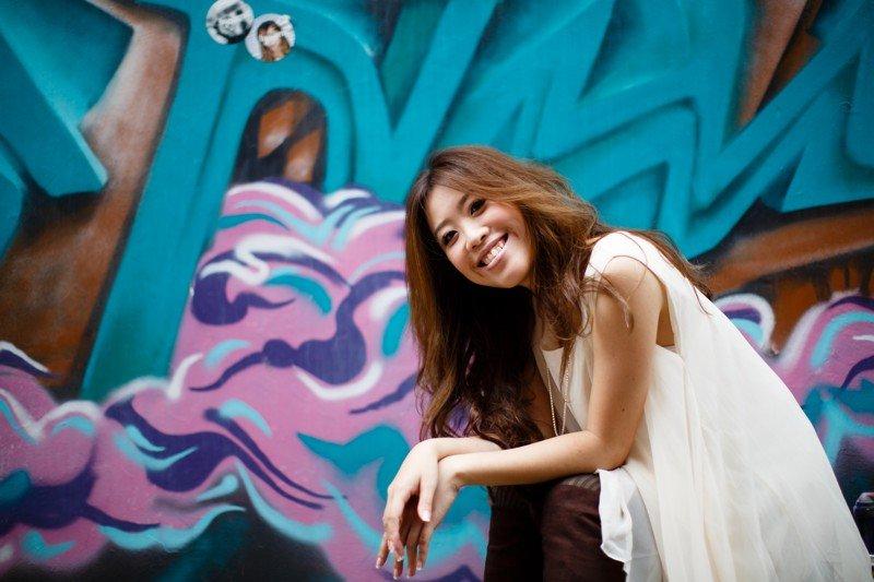 La chanteuse singapourienne Bevlyn Khoo. ©Bevlyn Khoo