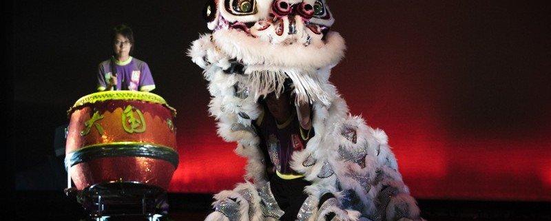 La danse du lion ©NUS Photo de James Hii