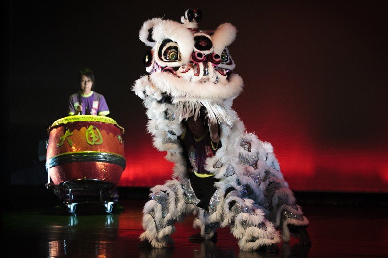 La danse du lion ©NUS Photo de James Hii