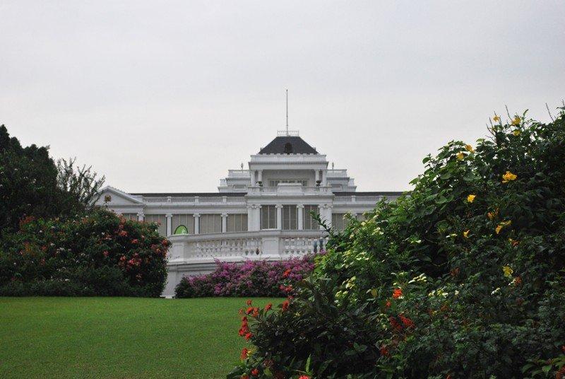 Istana, le palais présidentiel de Singapour. ©Colombe Prins