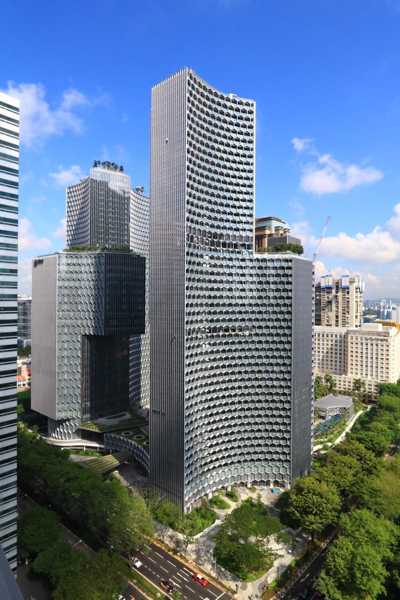 Entre Ophir et Rochor Road, Duo, le nouvel ensemble architectural. ©M+S Pte Ltd