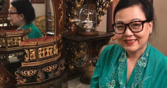 Irene Ong est la femme qui se cache derrière les pâtisseries Peranakan du restaurant True Blue.