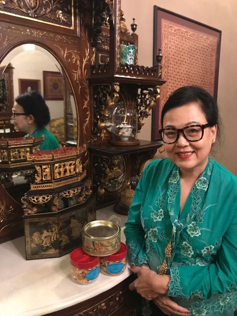Irene Ong est la femme qui se cache derrière les pâtisseries Peranakan du restaurant True Blue. ©St Francis Enterprise