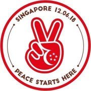 """Peace starts here"", adhésif lancé par l'agence publicitaire Tribal Worldwide Singapore. ©Tribal Worldwide Singapore"