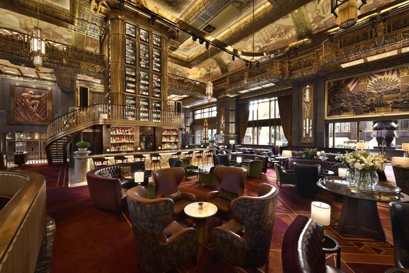 L'Atlas, désigné 8ème meilleur bar du monde. ©EK YAP & Atlas