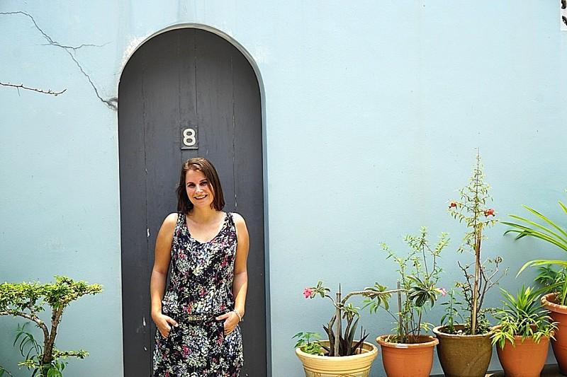 Amélie Recroix est la fondatrice de French Studio et Spanish Studio, deux écoles de langues installées à East Coast.
