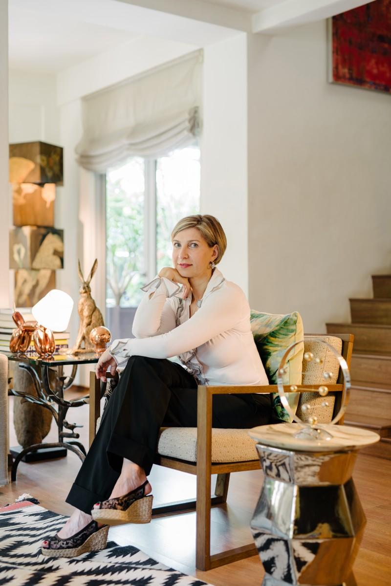 L'architecte d'intérieur, Isabelle Miaja vient d'ouvrir sa galerie d'art à Singapour.  ©Miaja Design Group