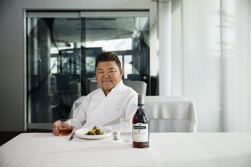 Le chef Justin Quek © Justin Quek Martell