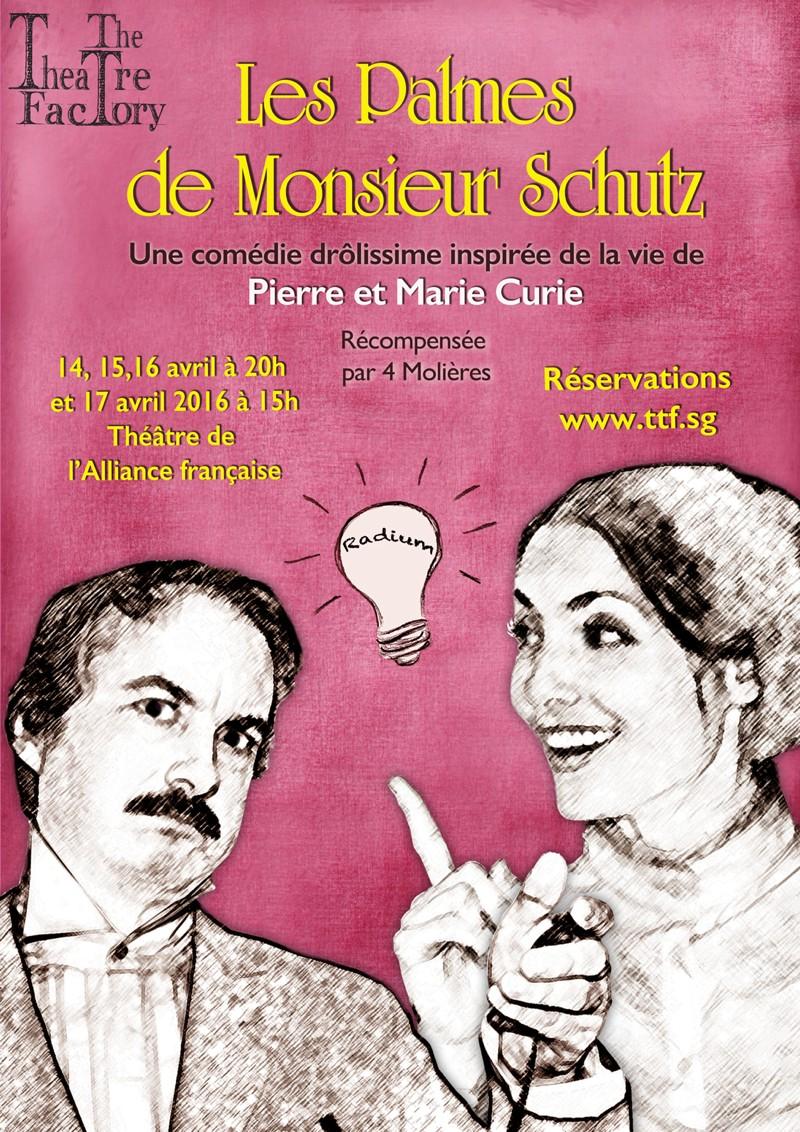 Les Palmes de Monsieur Schutz. ©The Theatre Factory
