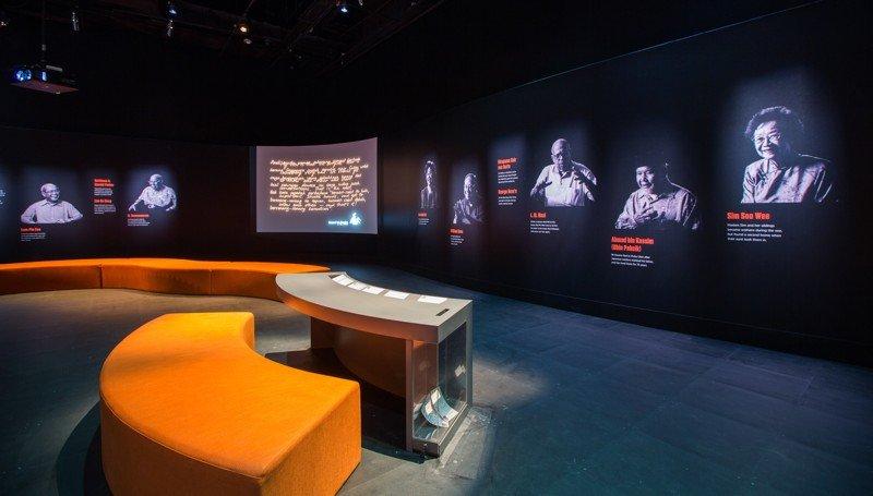 Des témoins de la Seconde Guerre mondiale raconte leurs souvenirs de l'année 1942. ©National Museum of Singapore